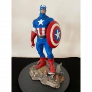 Sideshow Captain America Premium Format modded by Thiago Provin