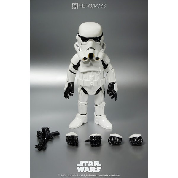 86 Hero / Hero Cross StormTrooper Hybrid Metal Figure #005  - Movie Freaks Collectibles