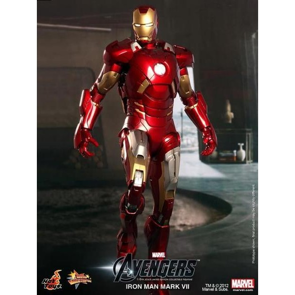 Hot Toys Homem de Ferro Mark VII - Os Vingadores  - Movie Freaks Collectibles