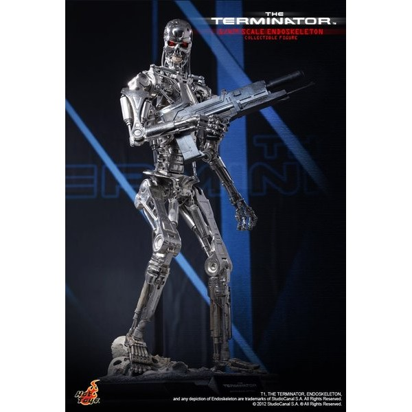 Hot Toys The Terminator Endoskeleton 1/4 Scale  - Movie Freaks Collectibles