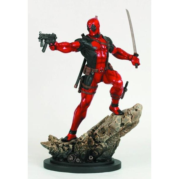 Bowen Designs Deadpool Action Statue  - Movie Freaks Collectibles