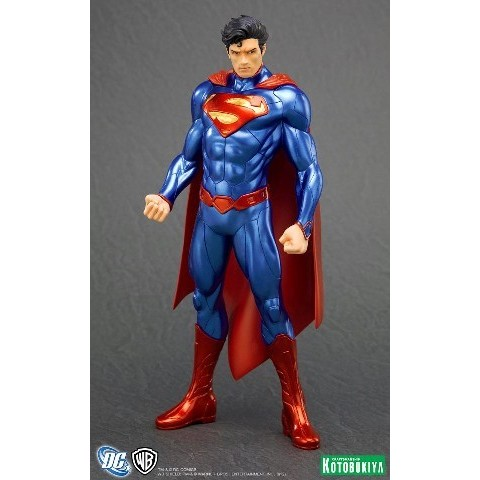 Kotobukiya DC Comics New 52 Super Homem ARTFX+ Statue - Movie Freaks Collectibles