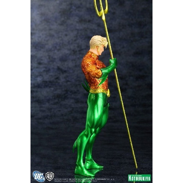 Kotobukiya DC Comics New 52 Aquaman ARTFX+ Statue  - Movie Freaks Collectibles