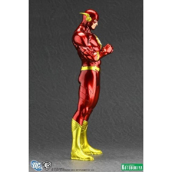 Kotobukiya DC Comics New 52 Flash ARTFX+ Statue  - Movie Freaks Collectibles