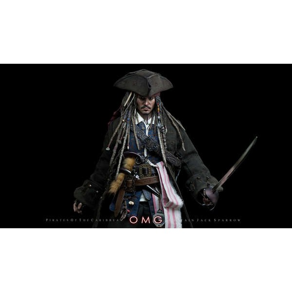 Hot Toys Jack Sparrow Dx  - Movie Freaks Collectibles