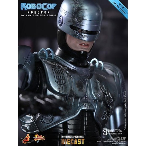 Hot Toys Robocop c/ cadeira mecânica Die Cast Series  - Movie Freaks Collectibles