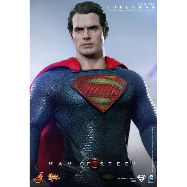 Hot Toys Super Homem - Man of Steel  - Movie Freaks Collectibles