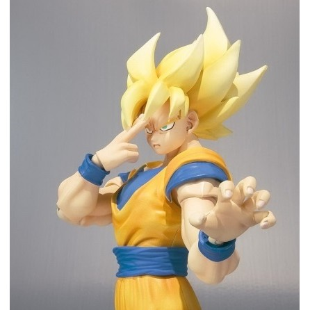 Bandai Goku Super Saiyajin Dragon Ball Z S.H Figuarts  - Movie Freaks Collectibles