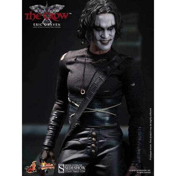 Hot Toys Eric Draven - O Corvo 1994 - The Crow - Brandon Lee  - Movie Freaks Collectibles