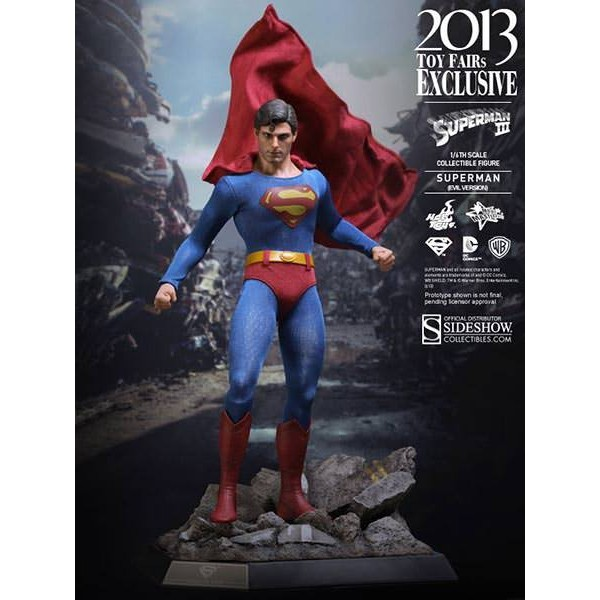Hot Toys Super Homem Evil Version- Superman- Toy Fair Exclusive  - Movie Freaks Collectibles