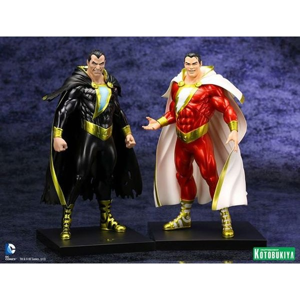 Kotobukiya DC Comics New 52 Black Adam ARTFX+ Statue  - Movie Freaks Collectibles