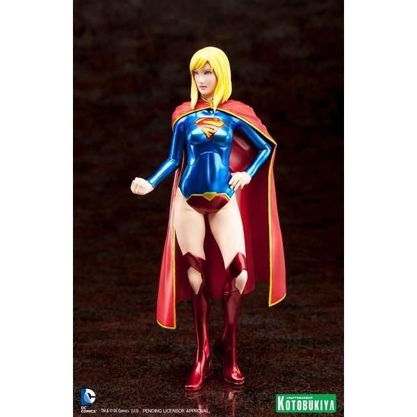 Kotobukiya DC Comics New 52 Supergirl ARTFX+ Statue  - Movie Freaks Collectibles