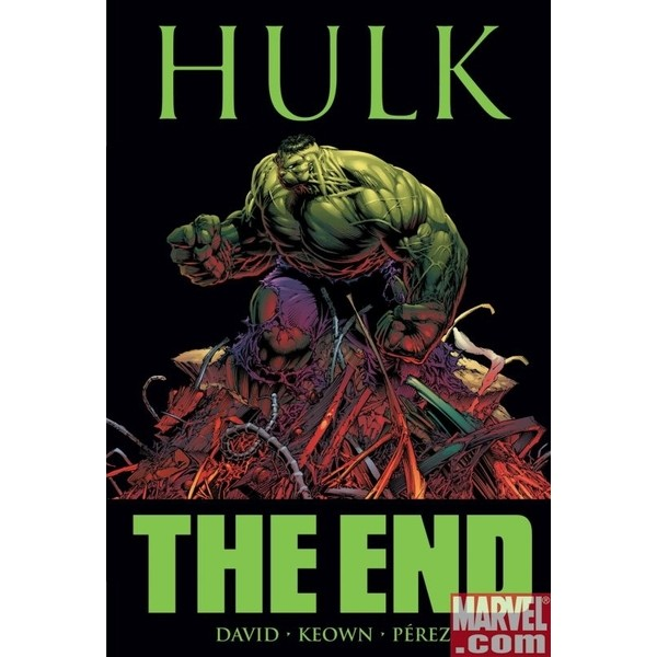 HULK The End Paperback  - Movie Freaks Collectibles
