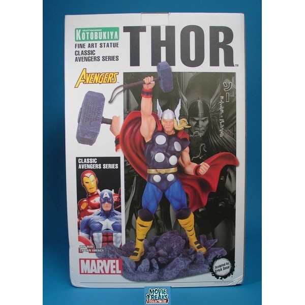 Kotobukiya Thor Classic Avengers Fine Art Statue Vingadores - Movie Freaks Collectibles