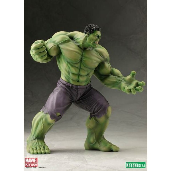 Kotobukiya Marvel Avengers Now Hulk ARTFX+ PVC Statue 1/10  - Movie Freaks Collectibles
