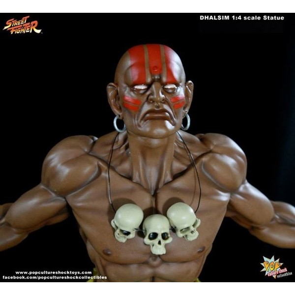 Pop Culture Shock Dhalsim Premium Format Street Fighter  - Movie Freaks Collectibles