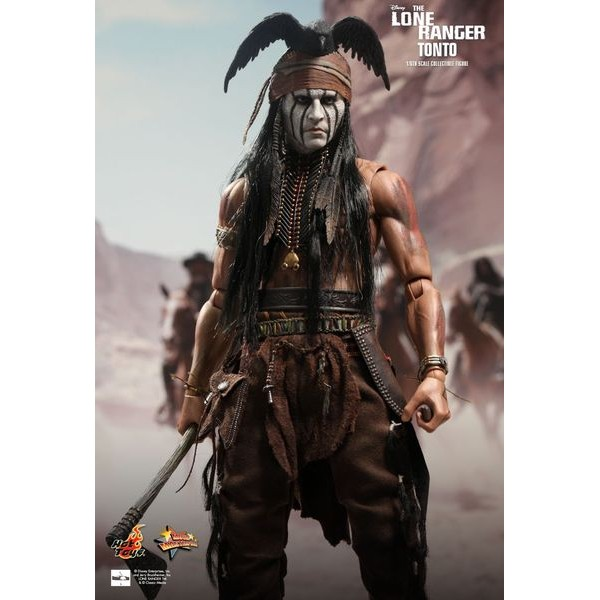 (PRÉ-VENDA /10%) Hot Toys Tonto - Movie Freaks Collectibles