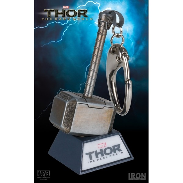 Iron Studios - Chaveiro Mjolnir - Thor : The Dark World  - Movie Freaks Collectibles