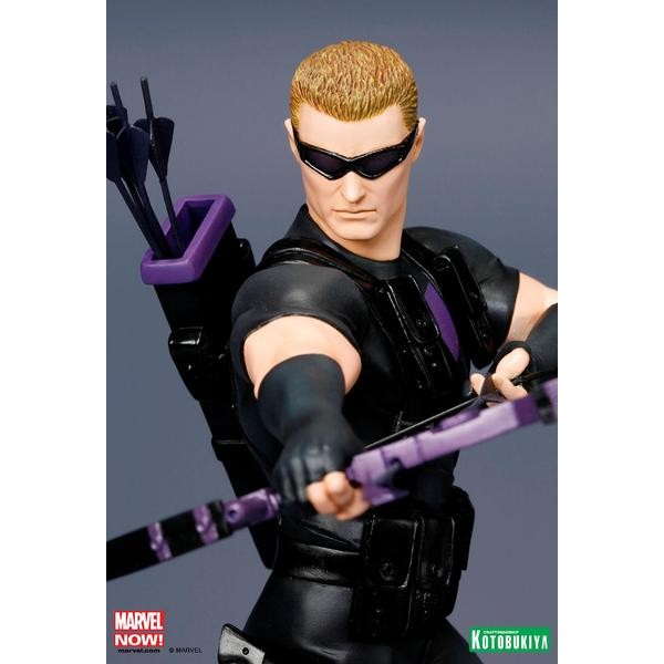 Kotobukiya Marvel Avengers Now Hawkeye ARTFX+ PVC Statue  - Movie Freaks Collectibles