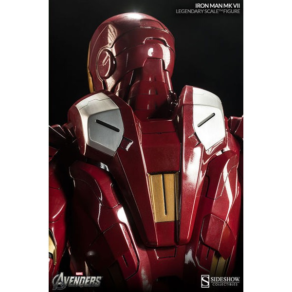 Sideshow Homem de Ferro Mark VII Legendary Scale Figure  - Movie Freaks Collectibles