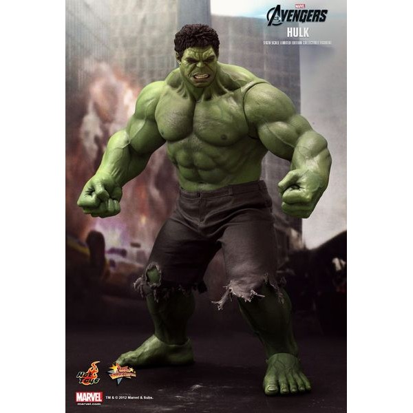 Hot Toys Hulk + Bruce Banner Pack  - Movie Freaks Collectibles