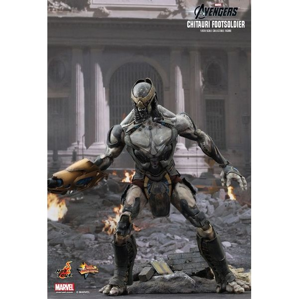 Hot Toys Marvel Avengers Chitauri Footsoldier  - Movie Freaks Collectibles