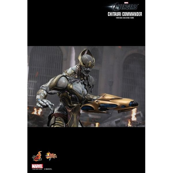 Hot Toys Marvel Avengers Chitauri Commander  - Movie Freaks Collectibles