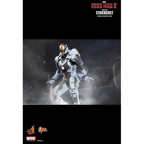Hot Toys Homem de Ferro Mark XXXIX Starboost  - Movie Freaks Collectibles