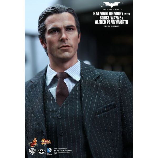 Hot Toys Batman Armory With Bruce Wayne And Alfred  - Movie Freaks Collectibles