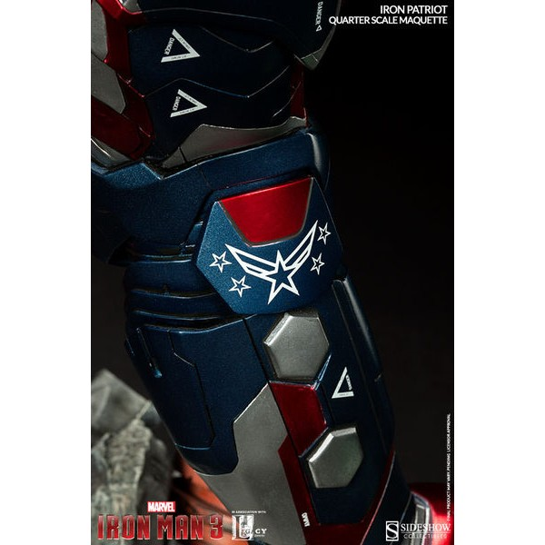 Sideshow Iron Patriot Maquette  - Movie Freaks Collectibles