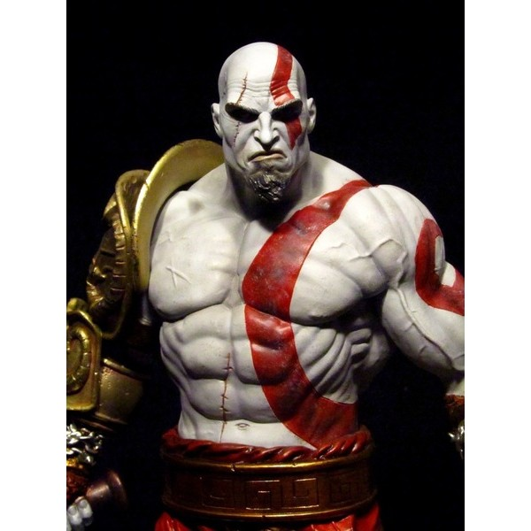 Sideshow Kratos Statue God of War  - Movie Freaks Collectibles