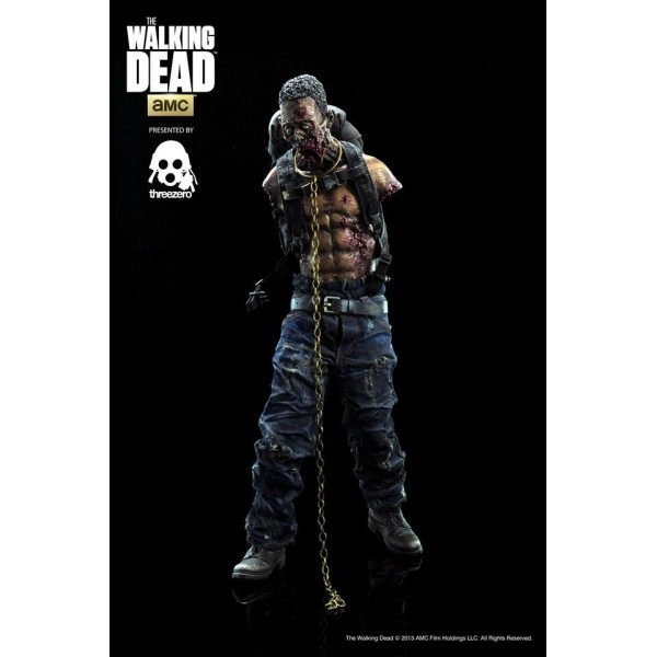 ThreeZero The Walking Dead Michone´s Pet Zombie Full set Green + Red  - Movie Freaks Collectibles