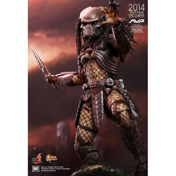 Hot Toys Ancient Predator Alien vs. Predator Sideshow Exclusive - Movie Freaks Collectibles