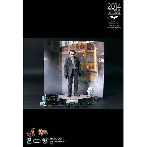 Hot Toys Coringa - Joker Bank Robber 2.0 - Sideshow EXclusive - Movie Freaks Collectibles