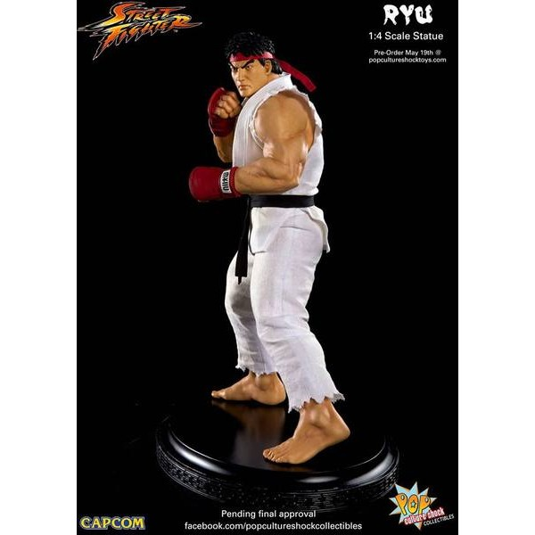 Pop Culture Shock Ryu Premium Format Street Fighter  - Movie Freaks Collectibles