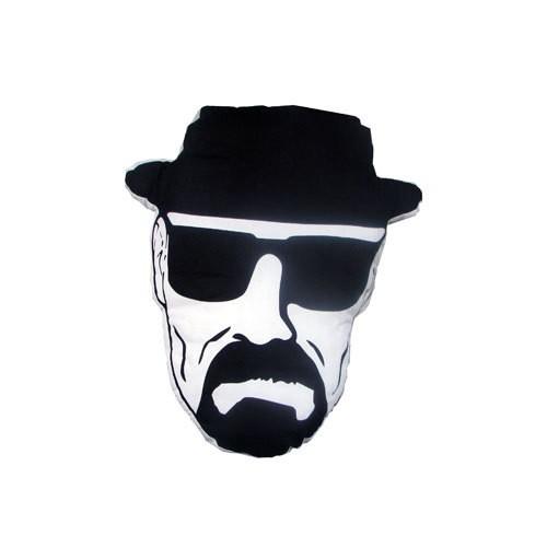 Mezco Breaking Bad Heisenberg Face Almofada com 45cm  - Movie Freaks Collectibles