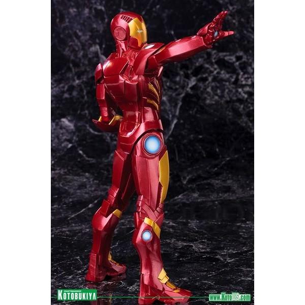 Kotobukiya Marvel Avengers Now Homem de Ferro RED ARTFX+ PVC Statue  - Movie Freaks Collectibles