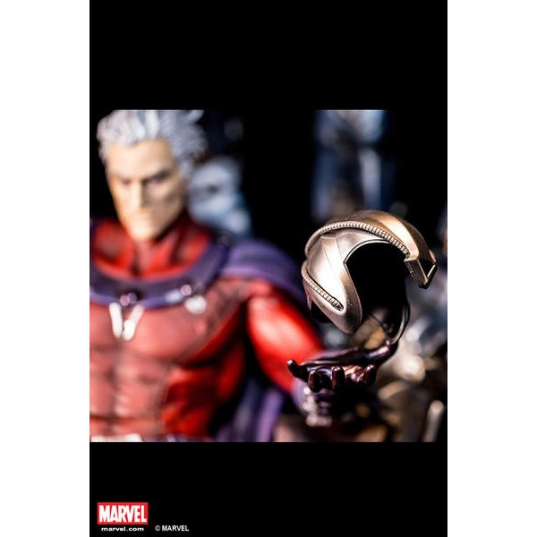 XM Studios Magneto on Sentinel Throne Statue with Exclusive COIN  - Movie Freaks Collectibles