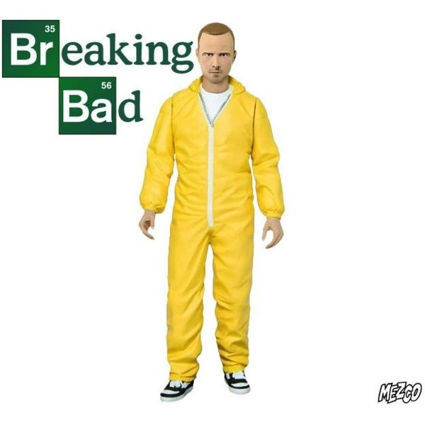 Mezco Breaking Bad Jesse Pinkman - Yellow Hazmat Suit  - Movie Freaks Collectibles