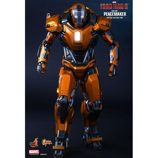 Hot Toys Homem de Ferro Mark XXXVI Peacemaker - Movie Freaks Collectibles