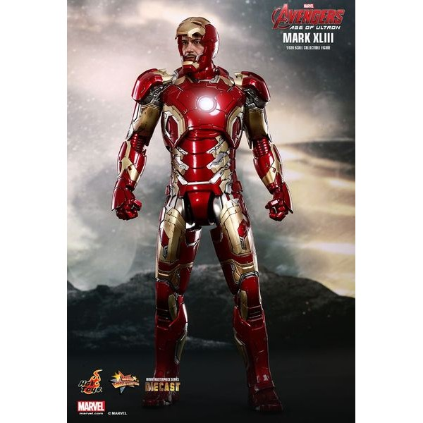 Hot Toys Homem de Ferro Mark XLIII 43 Die Cast - Movie Freaks Collectibles
