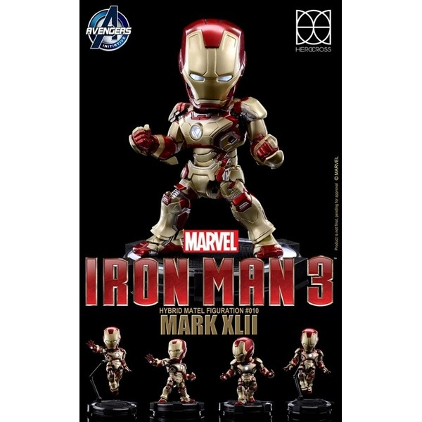 86 Hero / Hero Cross Homem de Ferro Mark 42 Hybrid Metal Figure  - Movie Freaks Collectibles