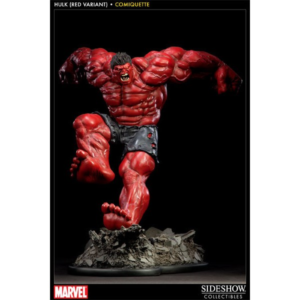 Sideshow RED Hulk Comiquette  - Movie Freaks Collectibles