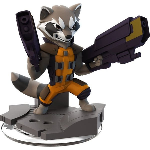 Disney INFINITY: Marvel Super Heroes (2.0 Edition) - Rocket Raccoon Figure  - Movie Freaks Collectibles