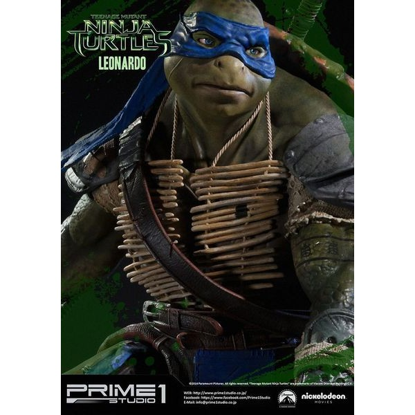 Sideshow Collectibles - Prime 1 TMNT Leonardo Polystone Statue  - Movie Freaks Collectibles