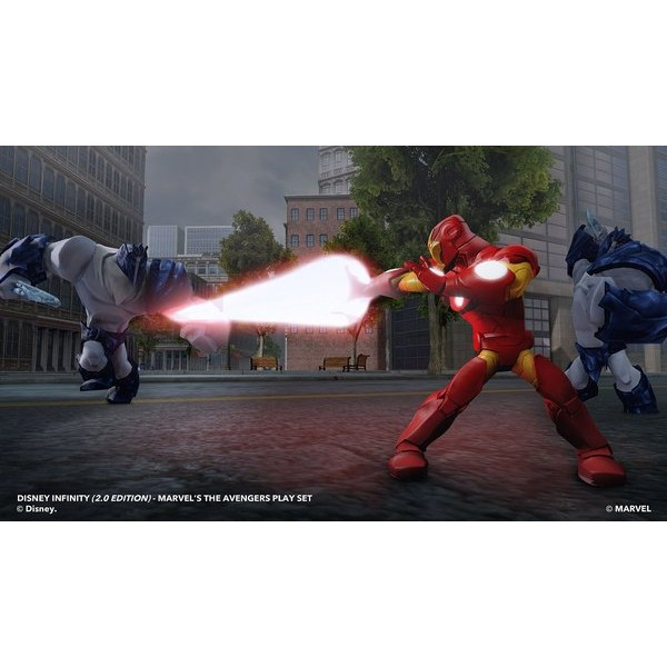 Disney INFINITY: Marvel Super Heroes (2.0 Edition) Video Game Starter Pack - PlayStation 4  - Movie Freaks Collectibles