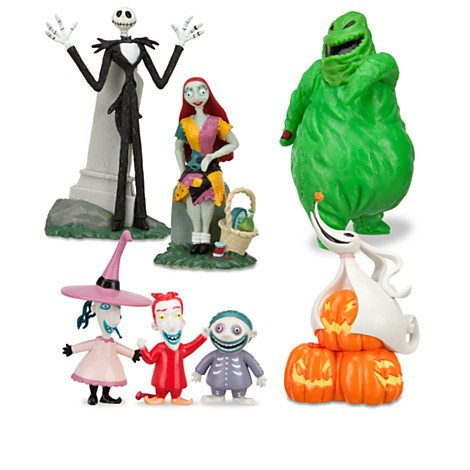 Disney Store O Estranho Mundo de Jack Figure Play Set - The Nightmare Before Christmas - Movie Freaks Collectibles