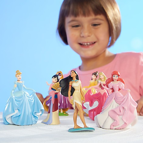 Disney Store Princesas Disney Figure Play Set 2 - Movie Freaks Collectibles