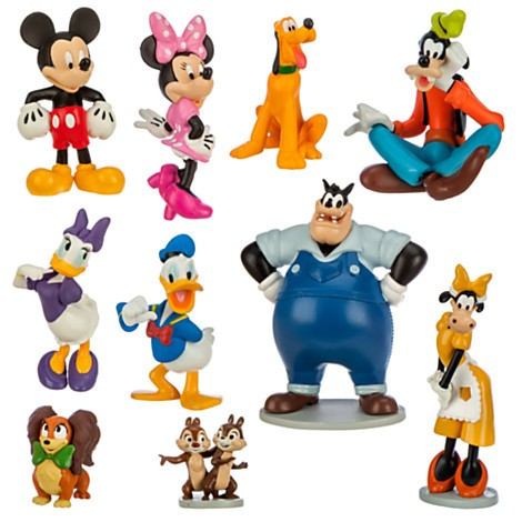 Disney Store Mickey Mouse Clubhouse Deluxe Figure Play Set  - Movie Freaks Collectibles