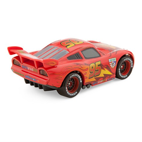 Disney Store Relâmpago Mcqueen Die Cast Car - Cars 2 - Escala 1:43 - Movie Freaks Collectibles